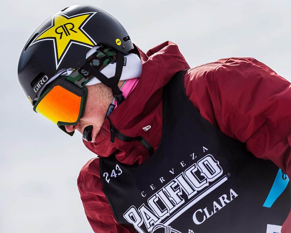 Chris Corning competes at X Games Aspen 2020.