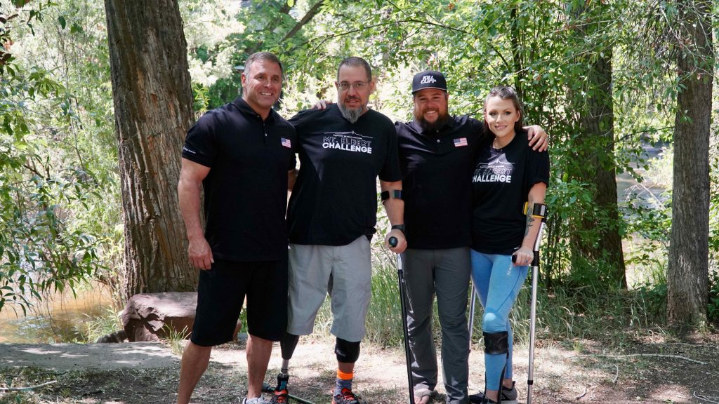 Three valley locals and a veteran from Wisconsin have been training to summit Mt. Elbert on September 16 in support of Challenge America. (Photo Courtesy of Challenge America)